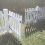 Portes de barrière bois exotique